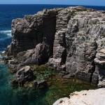 Rocce sul mare a Carloforte
