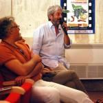Gianfranco Cabiddu al microfono