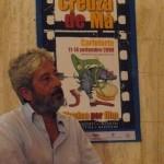 Gianfranco Cabiddu durante il Festival Creuza de Mà